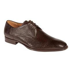 Men's Mezlan Escorial Plain Toe Oxford Brown Boarskin