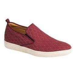 Men's Mezlan Moneo Slip-on Sneaker Burgundy Embossed Suede https://ak1.ostkcdn.com/images/products/106/832/P18703073.jpg?impolicy=medium