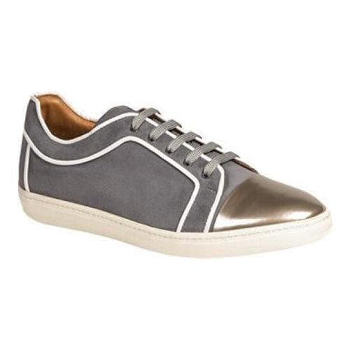 Shop Men s Mezlan Valeri Sneaker Silver Grey Calfskin Piped Suede - Free  Shipping Today - Overstock.com - 11792975 be97fe328b7