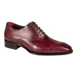 Men's Mezlan Toulouse Oxford Grape Calf