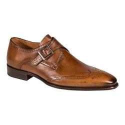Men's Mezlan Vitoria Monkstrap Tan Calf