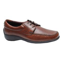 Men's Neil M Malta Moc Toe Oxford Walnut Leather