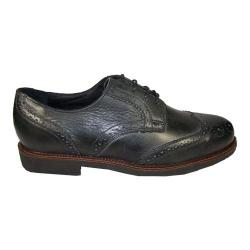 Men's Neil M Conway Vintage Black Leather