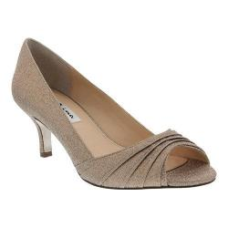 Women's Nina Carolyn Open Toe Pump Taupe Wonderworld