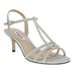 Women's Nina Charece Sandal Silver Bliss Glitter Mesh