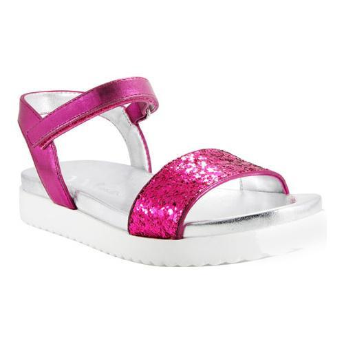 c6dc664c2a1 Shop Girls  Nina Gazmin Sandal Pink Metallic Chunky Glitter - Free Shipping  On Orders Over  45 - Overstock - 11793542