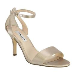 Nina Venetia Metallic Faux Suede Ankle Strap Dress Sandals fYh6uizD2