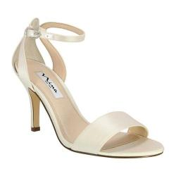 Women's Nina Venetia Sandal Ivory Satin (More options available)