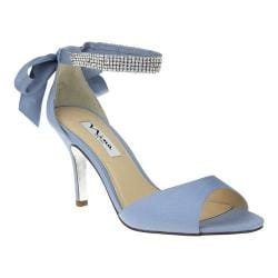 Women's Nina Vinnie Dusty Blue Luster Satin