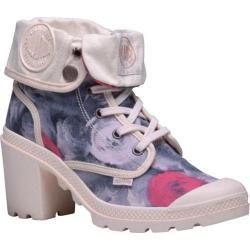 Women's Palladium Baggy Heel TW P Ankle Boot Salmon Pink/Linen/Roses