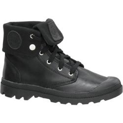 Men's Palladium Baggy Leather Shearling 02356 Black