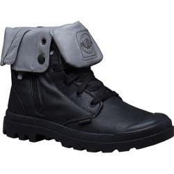 Palladium Baggy Zip Canvas Boot Black/Reflective