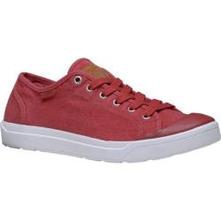 Men's Palladium Pallarue LC Lace Up Shoe Red Ochre/Marshmallow