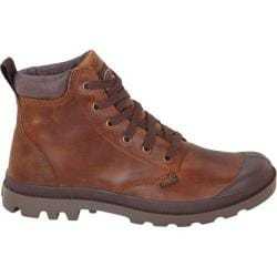 Men's Palladium Pampa Hi Cuff Leather Sunrise/Chocolate