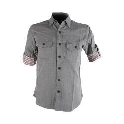 Men's Pendleton Fairbanks Fitted Shirt Drizzle Grey