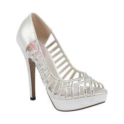 Women's Pink Paradox London Truffle White Satin