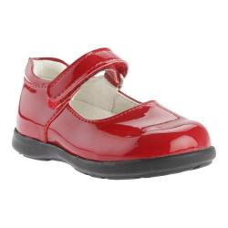 Girls' Primigi Andes Red/Red Patent Leather