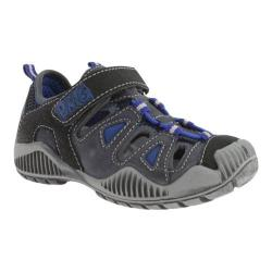 Boys' Primigi Hilos-E Blue/Black Leather