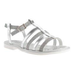 Girls' Primigi Lyla Argento Textile/Leather
