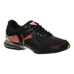 Women's PUMA Cell Riaze Black/Fluo Peach/Fluo Yellow