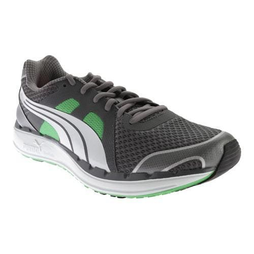7340adf52c4 Shop Men s PUMA Faas 550 Steel Grey White Classic Green - Free Shipping  Today - Overstock - 11794684