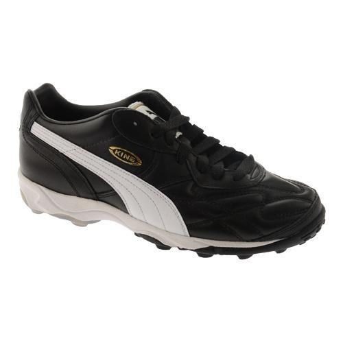 6c5959e0378d Shop Men's PUMA King Allround TT Black/White/Gold - Free Shipping Today -  Overstock - 11794721