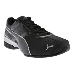 Men's PUMA Tazon 6 Running Shoe Black/Puma Silver
