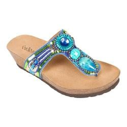Women's Rialto Bara Blue/Multi Pig Split
