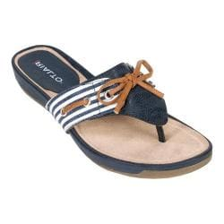 Women's Rialto Candid Navy/Honey Striped Synthetic