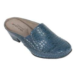 Women's Rialto Vette Navy Antique Crocodile Print