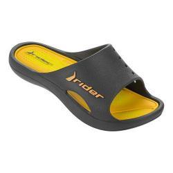 Boys' Rider Bay V Slide Grey/Yellow