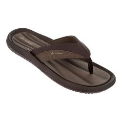 Men's Rider Dunas XI Thong Sandal Brown/Brown