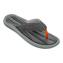 Men's Rider Dunas XI Thong Sandal Grey/Orange