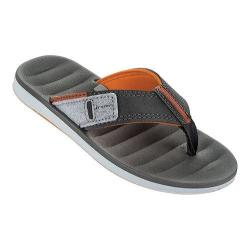 Boys' Rider Malaga Thong White/Grey/Orange