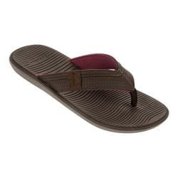 Men's Rider Malta Thong Sandal Grey/Brown