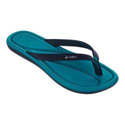 Women's Rider Plush III Thong Sandal Blue/Blue