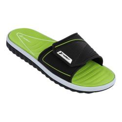 Men's Rider Tour II Slide Black/Green