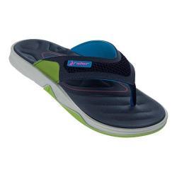 Men's Rider Ventor Thong Sandal Grey/Blue/Green