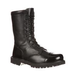 Men's Rocky 10in Zipper Paraboot 2090 Black Leather