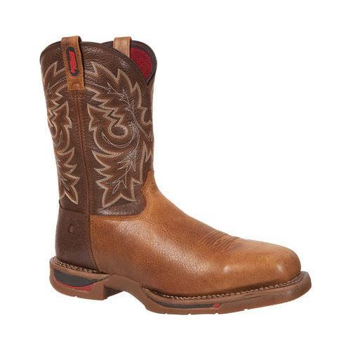 Men's Rocky 11in Long Range Western Carbon Fiber Toe 6132 Brown/Tobacco Leather