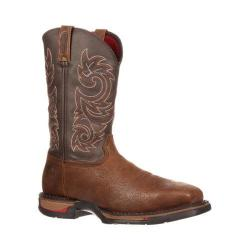 Men's Rocky 12in Long Range Western WP Steel Toe 6654 Boot Coffee Leather