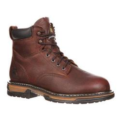 Men's Rocky 6in IronClad 6696 Boot Bridle Brown Leather