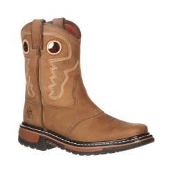 Children's Rocky 7in Saddle Ride RKYW068 Old Town/Tan Full Grain Leather