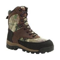 Men's Rocky 8in Core Insulated Outdoor Boot WP 4755 Brown/M0 Infinity Full Grain Leather/Textile