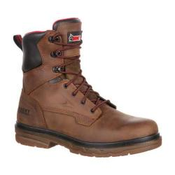 Men's Rocky 8in Elements Shale Boot RKK0160 Brown Leather