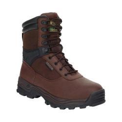 Men's Rocky 8in Rebels 6486 Boot Dark Brown