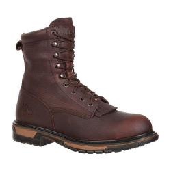 Men's Rocky 8in Ride Lacer 6717 Boot Bridle Brown Leather