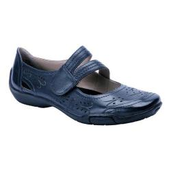 Women's Ros Hommerson Chelsea Navy Leather