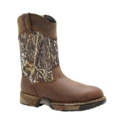 Men's Rocky Aztec Wellington 10in Boot 2871 Mossy Oak Break Up