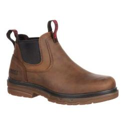 Men's Rocky Elements Shale Twin Gore Boot RKK0157 Brown Leather